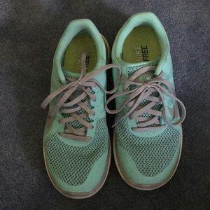 Nike Free Runs, Tiffany blue, 7.5